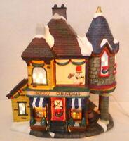 Grandeur Noel Victorian Village Grocery Store Shop Christmas 2001 Replacement