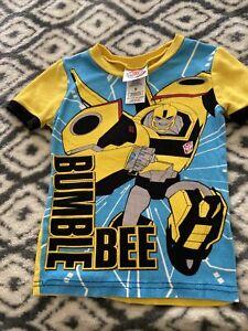 transformers pajama top size 5
