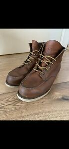 Red Wing Shoes Boots Moc Toe Mod. 875 Gr. 44 US 10,5 D