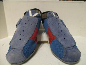 Vittoria Retro suede style road cycling shoes EU40 UK 6 SPD-SL flat pedal e23