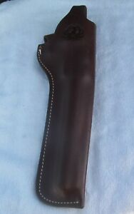 Triple K Leather OWB Holster #196-45 (9 1/2 inch) Right Hand - Dark Brown - Used