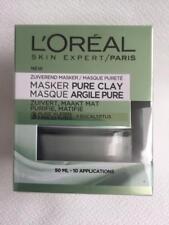 L'OREAL Masque purifiant, matifiant aux 3 argiles pures + Eucalyptus - 50 ml