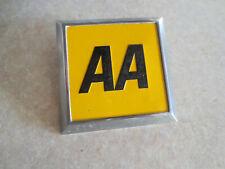1970s English AA car badge for Austin Morris Mini Rover Wolseley -- ---