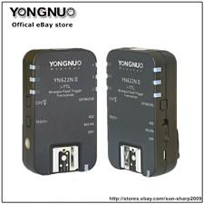 2PCS Yongnuo YN-622N II TTL Wireless Flash Triggerfor Nikon D800 D700 D600 D610
