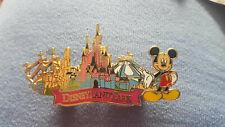 Mickey Mouse Disneyland PARK Castle Rides  Disney Trading Pin Paris