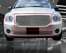 Front Billet Premium Grille Combo Insert For Dodge Caliber 2006-2012