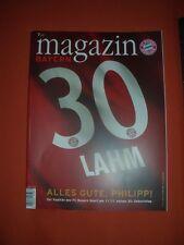 Bayern - Magazin Jg 7/65 9.11..2013 - FC Bayern München - Augsburg /Philpp Lahm