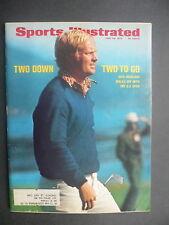 Sports Illustrated June 26, 1972 Jack Nicklaus US Open NCAA McKnight June '72
