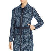 BOSS Hugo Boss Womens Tweed Long Sleeves Suit Separate Jacket Blazer BHFO 7177
