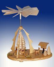 Piramide di Natale Caprioli tavolo piramide piramide Erzgebirge Seiffen NUOVO
