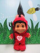 """Valentine """"Cute Li'L Devil"""" Devil (#1)- 5"""" Russ Troll - New Store Stock W/Flaw"""