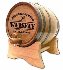 Whiskey Still Personalized White Wood Oak Barrel For Aging Whiskey & Spirits
