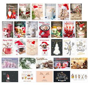 Set 30 Weihnachtspostkarten (21113)
