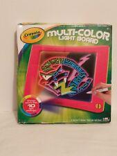 Crayola Multi-Color Light Board Brand New