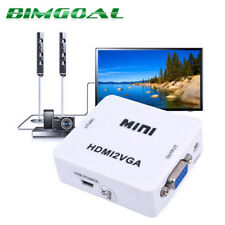 HDMI to RCA AV/CVBS L/R Adapter Video 1080P AV2HDMI Converter NTSC PAL AC1368