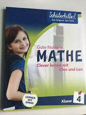 Schülerhilfe! Gute Noten in Mathe Clever lernen mit Cleo und Leo Klasse 4 NEU