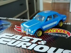 Hot wheels Fast Furious Imports '1970 FORD ESCORT RS 1600 New without package