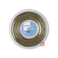 Luxilon BIG BANGER ORIGINALE 130 Tennis Stringa 200 M Reel - 16/1.30 mm-Amber