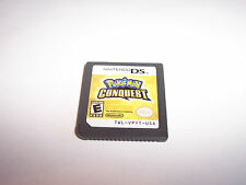 Pokemon Conquest Nintendo DS Lite DSi XL 3DS 2DS Game