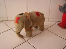 Vintage Modern Toys Japan Wind Up Mechanical Elephant