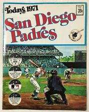 San Diego Padres Today's 1971 Official Picture Stamps Book by Dell
