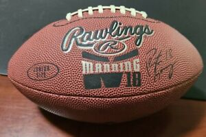 Peyton Manning Rawlings football, Junior Size, Signature Edition