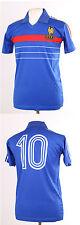FRANCE EURO 84 1984 Retro Platini 10 Bleu Football shirt maillot Petit S