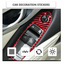 Fit For Infiniti Q50 2014-2019 Carbon Fiber Window Lift Switch Panel Cover Trim