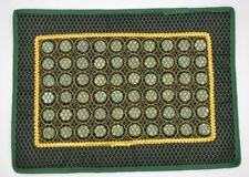 Cold Jade Tourmaline Healing Therapy Mat Negative Ions Pad For Pain Relief
