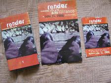 "ANI DiFRANCO '02 ""Render"" VHS w/PROMO DISPLAY+POSTCARD NEW/UNCIRCULATED"