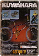"""BMX Kuwahara 10"""" x 7"""" reproduction metal sign"""