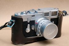 Leica M3 SS Rangefinder camera w/ Leica Summicron 50mm f/2 Rigid Lens