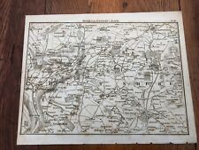 1792 topographical map - part of the great road from london to bath & bristol.10