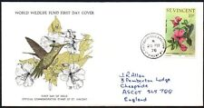 FDC - St. Vincent, 1976 WWF, Wildlife, Hummingbird, First Day Cover