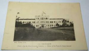 SALONICA PALACE OF THE VENEZUELAN GOVERNMENT POSTCARD WW1 1917        847
