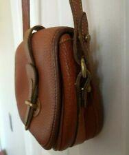 Dooney & Bourne Vintage Leather Crossbody Bag (Brown)