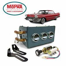 57-78 Mopar C-Body Compact Underdash 12V Auxiliary Cab Heater Box Chrysler HEMI