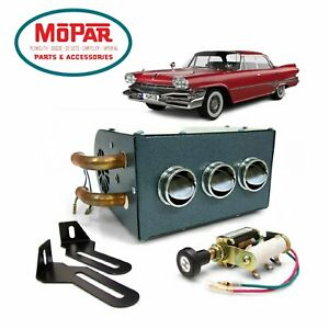 57-78 Mopar C-Body Compact Underdash 12V Auxiliary Cab Heater Box Chrysler HEMI