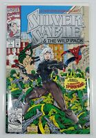Silver Sable & The Wild Pack #1 Signed by Artist Steven Butler/Inker Jim Sanders