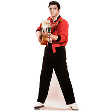 Elvis Presley The King Black Suit White Tie Cardboard Fun Cutout 180cm Tall