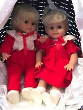 Lissi Puppe Vintage Twin Dolls ~ Gisela ~ Product Of Germany ~ With Stroller!