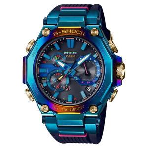 G-Shock MT-G Blue Phoenix Rainbow IP Limited Edition Watch MTG-B2000PH-2A