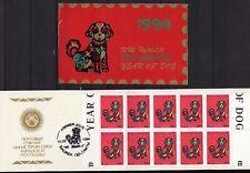 Kirgisien 21A ** postfrisch MH Jahr des Hundes (2927)