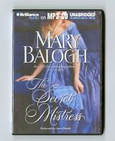 The Secret Mistress  by Mary Balogh - MP3CD - Audiobook