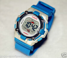 Lady Girls Sports Digital Watches Water Resistant 30M Alarm Day Date Light Timer