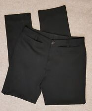 DIRK BIKKEMBERGS Mens Black smart TROUSERS SIZE S Made In ITALY