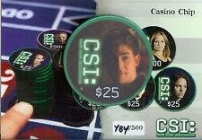 CSI Series 3 Casino Chip $25 Gregg The 6th Chip from Strictly Ink