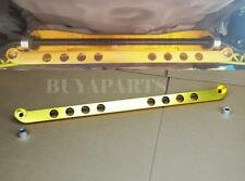 Gold Billet Aluminum Rear Subframe Brace Tie Bar For 1994-2001 Acura Integra DC2