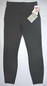 NWT $74 Size S (4-6) Athleta Black Power Up 7/8 Tight Legging Pant #349758