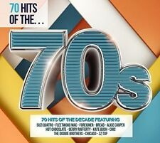 70 Hits of the '70s [Rhino] by Various Artists (CD, Apr-2016, 3 Discs, Rhino...